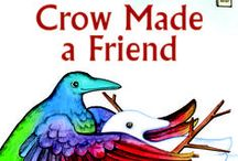 Crow Made a Friend / New from Holiday House, and part of their acclaimed I Like to Read early reader picture books: CROW MADE A FRIEND! Here's some crow friends to make and crows making friends!