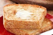 Homemade breads...