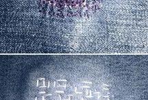 Sashiko and Boro / Japanese meaningful stitches and artful mending