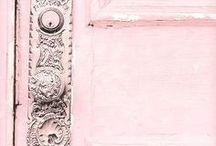 Whimsy / Pink and pastel, travel, whimsy, whimsical details, beautiful world