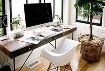 Desks + Work Areas