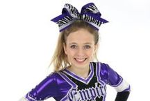 Cheer Hair Bows / Cheer Hair Bows, Big Cheer Bows, Cheerleader, Competition, Team Spirit Hair Bows. Cheer! / by Top Notch Boutique Accessories, Inc.