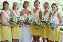 ♥ Yellow Weddings | Jevel Wedding Planning ♥ / Weddings | Yellow Weddings | Jevel Wedding Planning Weddings with yellow as the primary color or primary accent color (not including the bride and groom's attire). May include yellow flower arrangements, yellow bouquets, yellow bridesmaids dresses, yellow linens at the reception etc.