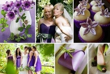 ♥ Purple Weddings | Jevel Wedding Planning ♥ / Weddings | Purple Weddings | Jevel Wedding Planning  Weddings with purple as the primary color or primary accent color (not including the bride and groom's attire). May include purple flower arrangements, purple bouquets, purple bridesmaids dresses, purple linens at the reception and other purple wedding decor.