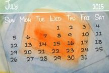 Calendars / I take the picture....I make the calendar....almost every month (or not)