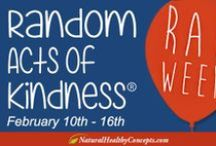 "Random Acts of Kindness / Share with us your random act of kindness or an act of kindness you have seen!   ""You cannot do a kindness too soon, for you never know how soon it will be too late."" — Ralph Waldo Emerson / by Natural Healthy Concepts"