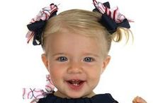 Sports Hair Bows / Softball, Volleyball, Soccer, Basketball, Baseball & Football Streamer Hair Bows. Team Discount http://topnotchboutiqueaccessories.com/shop/index.php?cPath=190 / by Top Notch Boutique Accessories, Inc.