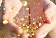 All that glitters & sparkles / Some girls are just born with glitter in their veins.