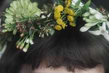 LOVEly crowns and wreaths / Because flowers are not only for bouquets! I love wreaths to be worn or displayed