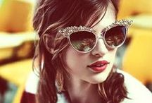 "Sunnies / ""My sunglasses are like my guitar."" – Patti Smith"