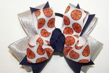 Basketball / Basketball Bows, Team Bows, Accessories & Gifts / by Top Notch Boutique Accessories, Inc.