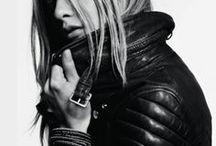 Leather Jacket Love / Good girls go to heaven, bad girls go everywhere. - Mae West