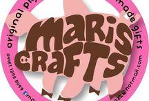 Maris Crafts, piggyBanks & handmade gifts <3 / original piggybanks, dys gifts all handmade
