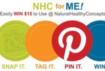 """NHC for Me! / Have you made a recent purchase from us? We want to see pictures with your goodies!   Snap a selfie of you and your order and include #NHCforMe for everyone to see on our """"NHC for Me"""" board. Every month, 4 winners will get $15 to use on their next purchase!    / by Natural Healthy Concepts"""