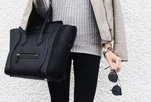 Black, White & Gray = My Style