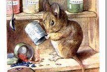 Image Transfers (Beatrix Potter)