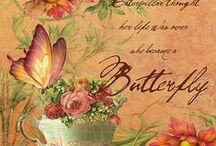 Image Transfers (Butterflys)