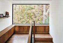 Escaliers / Mezzanine