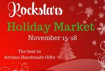 Rockstar Christmas Market - Etsy / Great savings from these shops with code ROCKSTARSMARKET2017 when you shop November 15-18, 2017!  Head to the FB page and browse! Here is the address:  https://www.facebook.com/groups/129932874311750/