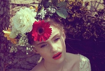 Flower's in her Hair and Makeup / by Luloo Flynn