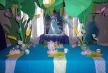 Princess & The Frog Themed Parties / Princess & The Frog Themed Parties