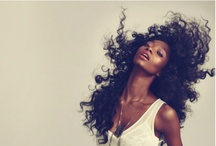 BE   curly hair & red lips / by Vivian Mavrogianni