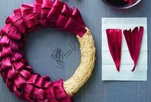Fun Holiday Wreaths | Rit Dye / Rit Dye celebrates all year round with festive, fun handmade wreaths you can do, too! / by Rit Dye