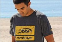 PIPELINE Ho'okipa Guys Heather Tees  / Tired of looking at all those solid colored tees hanging in your closet? Well, we've got just thing that will spice up your tee shirt lineup with our Ho'okipa Heathers. They have a grainy organic look and are soft and light-weight... You'll look great, feel great wearing them!