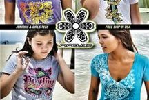 PIPELINE Girls Tees / Pipeline® Clothes & Gear introduces acollectionofgirls teesto inspire thesurferand beach lover in all of us.Make a statement without saying without saying a word with these cool designs... You'll look awesome, wearing them!