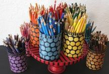 Back to School  | Rit Dye / DIY projects and tutorials to help making going back to school more colorful and fun, from college laundry bags to a stained wood tissue box, and lots of fun projects in between.  | Rit Dye