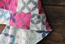 Quilting    Rit Dye / A collection of handmade quilts and tips on how to over-dye quilts for a fresh look.