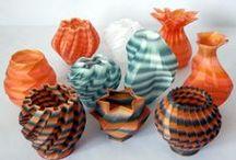3D Printed Art    Rit Dye