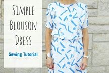 Sewing tutorials / Sewing projects and ideas to try.