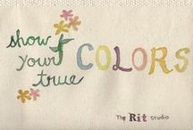 Colorful and Inspiring Quotations | Rit Dye / Some of favorite, fun colorful and inspirational quotations and sayings to help get the creative juices flowing. / by Rit Dye