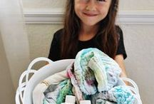 Kid Crafts    Rit Dye / Upcycle your children's wardrobe simply and easily with dye.