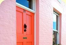 At The Door / Doors: Interior & Exterior. Who knew they could be so colorful?