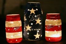4th of July, I heart America / party food and home decor ideas for 4th of July, I love the Fourth. / by Lorri Gail Moffatt