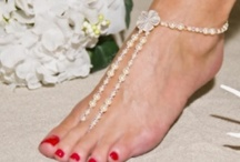 Jewels by Jan Creates Beach Wedding Sandals / Here's just a little snapshot of how our products are being worn by brides and as accessories to their sexiest heels! / by Jewels-by-Jan Beach Wedding Footwear