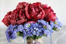 Flower arrangements I did