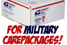 Care package ideas  / Because they risk their lives to keep us safe...  Love you Phil and Michael!   / by Crystal G.