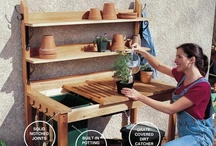 Potting benches and garden rooms / by Kelly Bybee