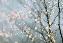 Sparkle for Christmas / All kinds of sparkle and bright lights for Christmas and the holiday season!