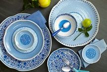 Melamine For Dining / Melamine used to be difficult to find: not any more! There are SO many fun, contemporary and sophisticated patterns at many retailers. Take a look.