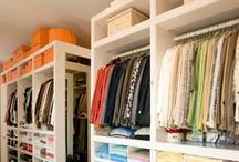 Closet / Pequeno ou grande. Repleto de Gucci ou C&A. Não importa. O que importa é acabar com a bagunça.