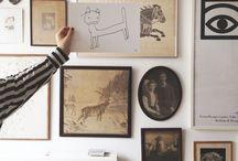 Wall Art Groups / by Keiko Brodeur // Small Adventure