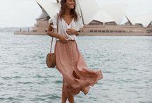 styles for HER. / Modeinspirationen für SIE.  Bohemian, boho chic, curvy, minimalist fashion.