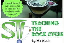 Teaching the Rock Cycle / Teaching the Rock Cycle Ideas. Going for great active learning teaching ideas!