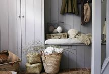 Laundry / Entrance / Hallway / by Keiko Brodeur // Small Adventure