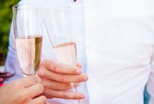 Cheers / A toast to the happy couple / by Catherine Hall Studios