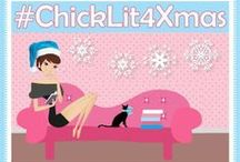#ChickLit4Xmas / Chick lit books for holiday reading or Christmas gifts! Follow the hashtag on twitter for book suggestions and fab pics of books looking all festive :)